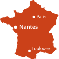 Paris Nantes Toulouse
